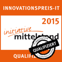 Innovation Award IT 2015 qualified